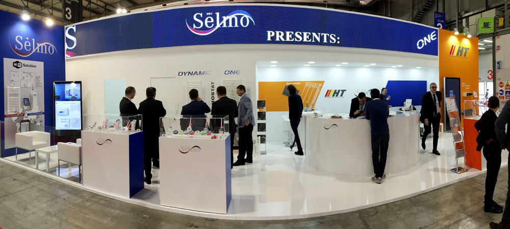SELMO at the ISH Frankfurt fair, stand n. C82, Hall 9.0.